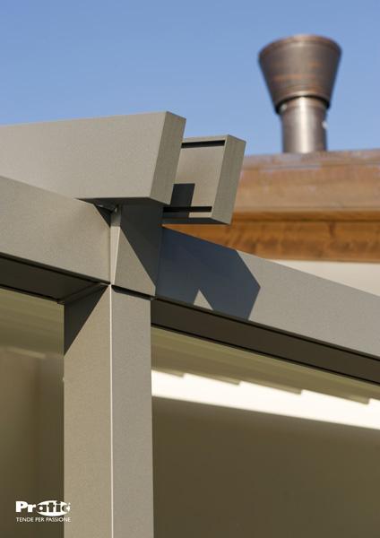 paller markisen pergole aus aluminium der serie tecnic. Black Bedroom Furniture Sets. Home Design Ideas